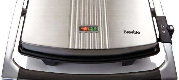 Sandwichera Breviere VST026X Panini Grill